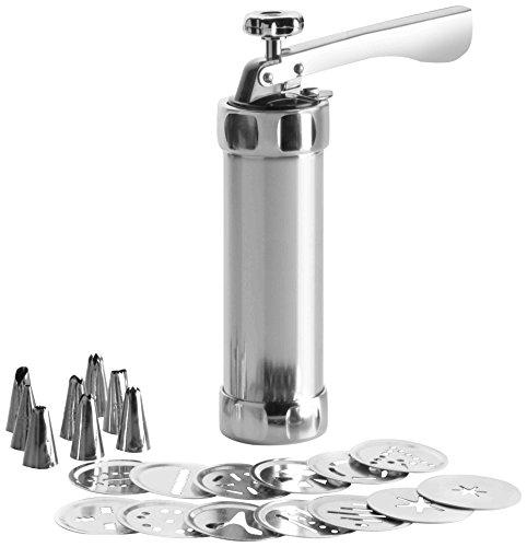 IBILI 792300 - Siringa per churros e biscotti in alluminio