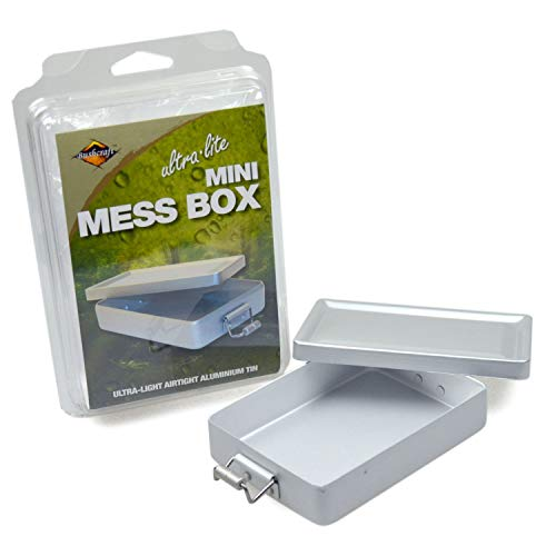 BCB Adventure Mess Box Mini, Silver