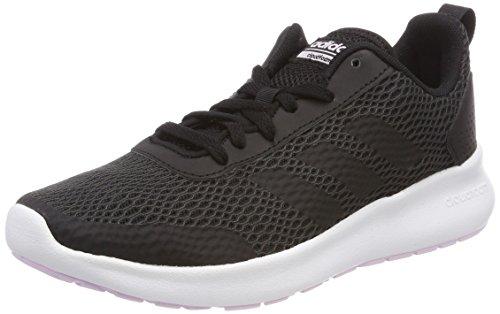 adidas Damen Cloudfoam Element Race Traillaufschuhe, Schwarz (Negbas/Carbon/Aerorr 000), 44 EU