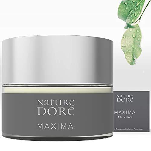 Crema Hidratante Facial Mujer-Hombre con Acido Hialurónico Puro- Colageno Vegano- Caviar Lime(Fuente natural de Vitamina C) Bayas de Goji - Efecto Tensor -Antiarrugas