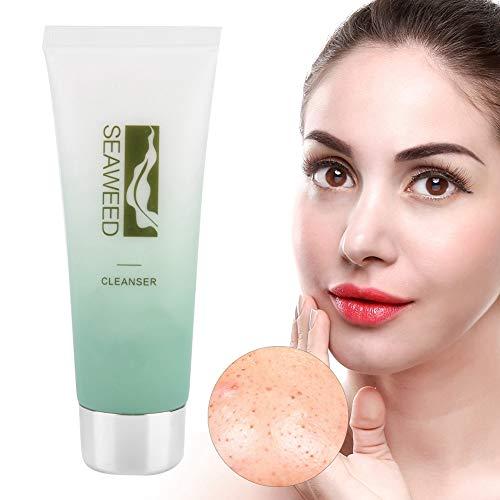 100 ml Crema Limpiadora de Poro Facial, Limpieza profunda e hidratante y aceite suave control de lavado de cara