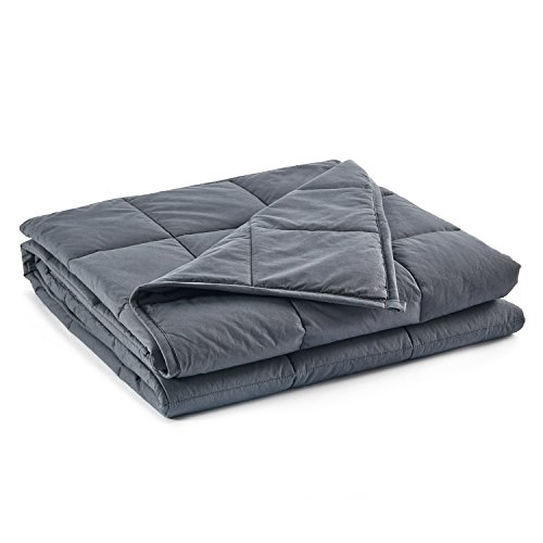 RelaxBlanket Weighted Blanket | 60''x80'',15lbs | for Individual Between 140-170 lbs | Premium...