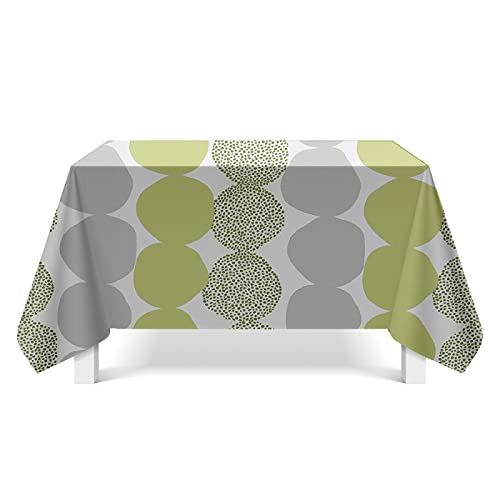 XGguo Tablecloth for Solid Table Cover for Wedding Restaurant Party Buffet Table Fragmented geometric art