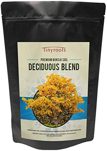 Tinyroots Bonsai Soil Deciduous Blend - 2.5 Gallon,100%...