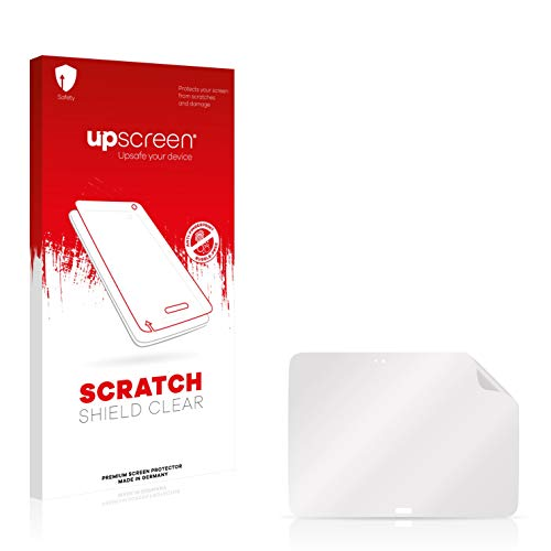 upscreen Schutzfolie kompatibel mit Samsung GT-P5200 – Kristallklar, Kratzschutz, Anti-Fingerprint