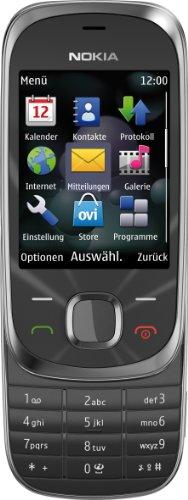 Nokia 7230 Cellulare (3.2 MP, Lettore musicale, Bluetooth, Modalità aereo, Scheda di memoria da 2GB, Slider), colore: Graphite [Importato da Germania]