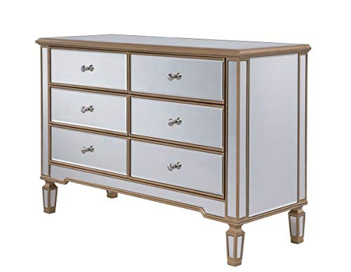 Chauncey 6 Drawer Double Dresser, Adult Assembly Required: Yes, Dresser Mirror: No