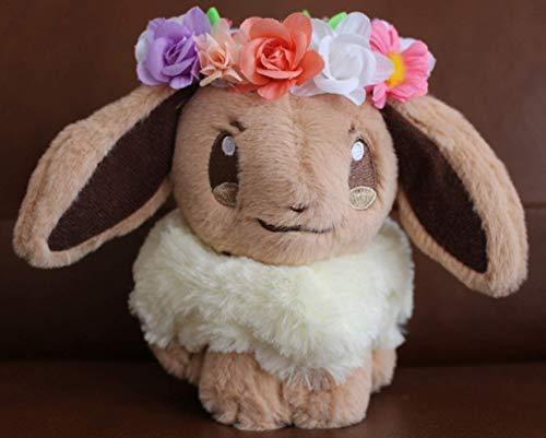 QWET Pokemon Plush Doll Garland Decoration Elf Cute Stuffed Toy Kids Children Gift Easter Spring Festival 25Cm