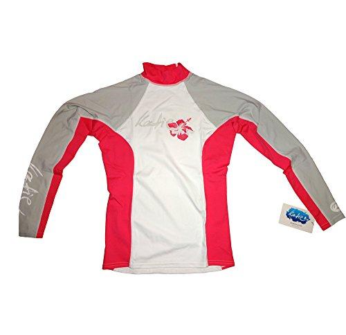 surfshop24 Katie Rashguard Spandex UV-Shirt Damen Langarm UPF 50+ Sonnenschutz (S)