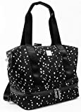 Baby K'tan Flex Diaper Bag – Convertible Baby Diaper Bag with Baby Changing Pad, Cooler & Multiple Pockets – Adjustable Tote, Messenger or Backpack Baby Bag, Sweetheart Black