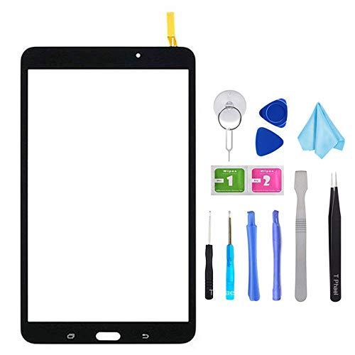 Tefir Negro Pantalla táctil digitalizadora de Cristal para Samsung Galaxy Tab 4...
