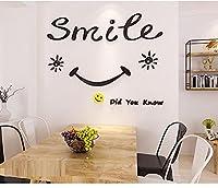 壁 ステッカー レストラン装飾ステッカー文字自己粘着 3D 立体寝室ルーム リビング ルーム ダイニング テーブル背景ウォール ステッカー-150*90Cm_D