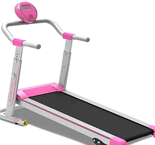 CLI Mechanische Laufband Jogging-Maschine klappbare Stoßdämpfung Laufband Fitness Fitness Desktop-Laufband 160 kg maximales Gewicht