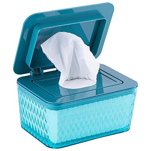 Feuchttücher-Box,Toilettenpapier Box,Kunststoff Feuchttücher Spender,Baby Feuchttücherbox,Tissue Aufbewahrungskoffer, Taschentuchhalter,Tücherbox,Serviettenbox Für Halten Sie Die Tücher Frisch