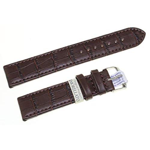 Morellato Cinturino Juke In Pelle Stampa Alligatore In 9 colori Assortiti (18, Testa Di Moro)