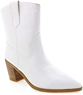 BILLINI Women's North Ankle Booties with a Western Twist