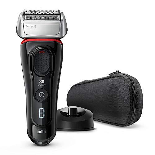 ブラウン メンズ電気シェーバー シリーズ8 4カットシステム 水洗い/お風呂剃り可 シルバー 8340s-V 【Amazon.co.jp 限定】