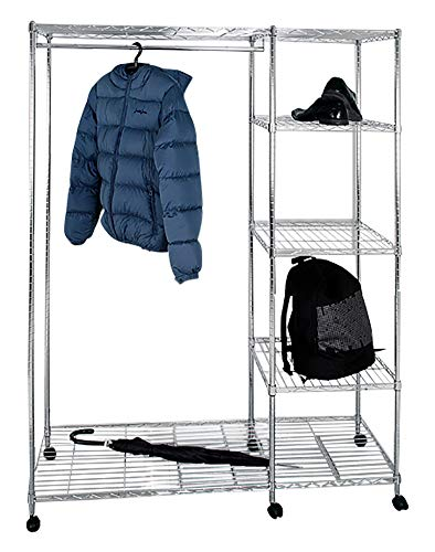 HAKU ENJOY Your Home APPRECIEZ VOTRE INTERIEUR garderobe Breite 123 cm Höhe 181 cm Tiefe 45 cm zilver