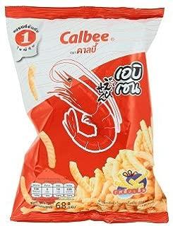 Calbee Prawn Cornflakes Unique Taste.68g.
