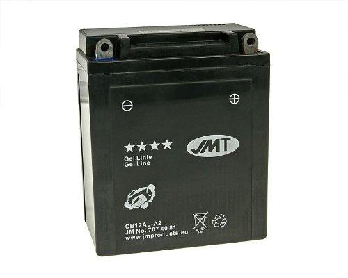 Batterie JMT Gel JMB12AL-A2 für BMW F 650 650 GS Dakar ABS Bj. 2005 - inkl. 7,50 EUR Batteriepfand