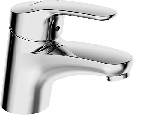 Hansa Waschtisch-Einhebelmischer HANSAMIX 01162283 ohne Garnitur mit flexiblen Druckschlauch, verchromt