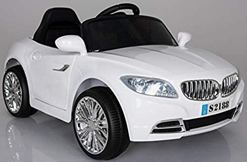 BMW Coupe Stil Fahrt auf Auto 2X6V Weiß
