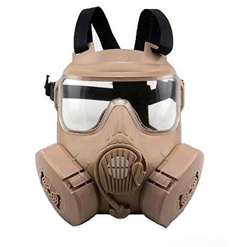 CS-maskers - Volgelaatsmasker Bescherming van gasmaskers Medium maskers voor militaire liefhebbers
