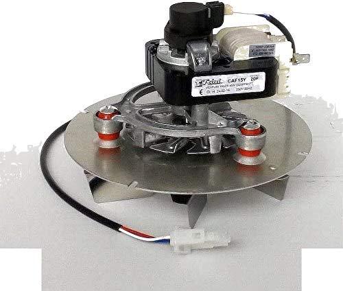 Extractor de humos, estufa, pellet, ventilador universal, 48W Trial con cable codificador