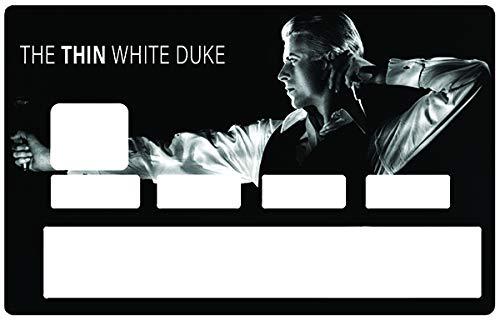 Sticker, Pegatinas, adhesivo decorativo para tarjeta de crédito, DAVID BOWIE, The Thin...