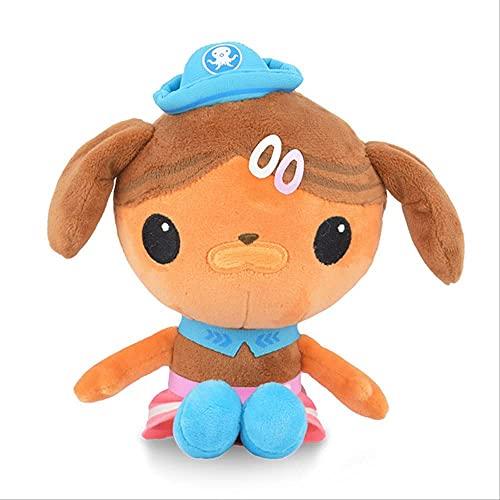 Buck Captain Pi Doctor Qiqi Toys 29 cm lindo juguete de felpa decoración de la habitación regalo de cumpleaños muñeca de peluche regalo creativo