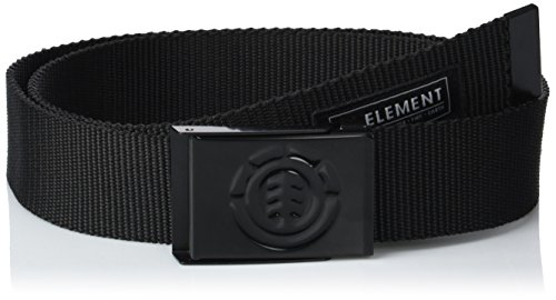 Element Herren Gürtel BEYOND BELT, All black, One Size, C5BLA1-ELP7-2204