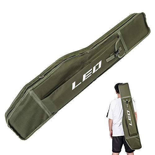 Lixa-da 1,2 Mt Angeln Tasche Klapp Angelrute Rollen Tasche Angelrute Angelgerät Fall Aufbewahrungstasche Reise Umhängetasche