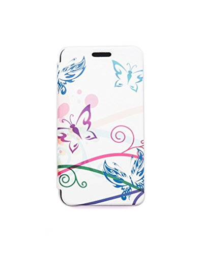 TELLUR Farfalla Custodia a Portafoglio per Nokia Lumia 630