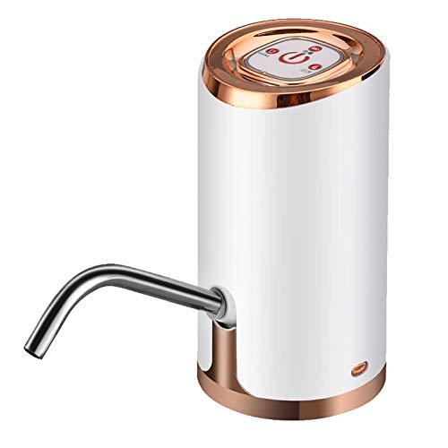 Dispensador Agua para Garrafas con Adaptador Dosificador Eléctrico Automático Extraíble USB Botellas Agua Fria y Caliente Bomba de Agua electrico fría Automático