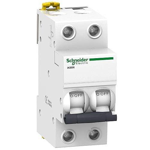 CABLEPELADO Interruptor automatico magnetotermico - iK60N - 2P Blanco (25 A)