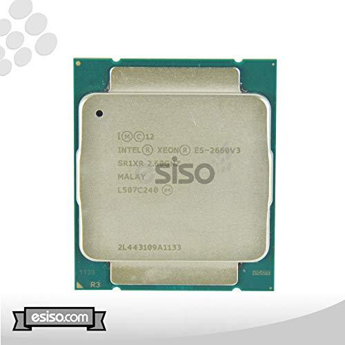 Intel Xeon E5-2660 V3 10 Core Prozessor 2,60Ghz 25MB Smart Cache 9.6 GT/S QPI FCLGA2011-3 TDP 105W SR1XR (Renewed)