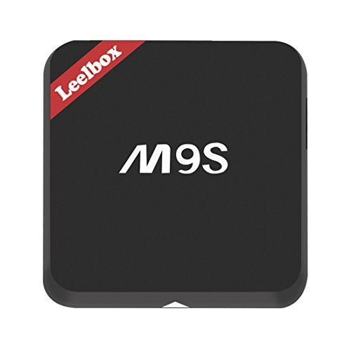 Leelbox M9S Android TV Box Smart TV Box de 2 GB RAM y 16 GB ROM Amlogic S812 Quad Core AP6330 Wifi Modulo Compatibilidad con 802.11n