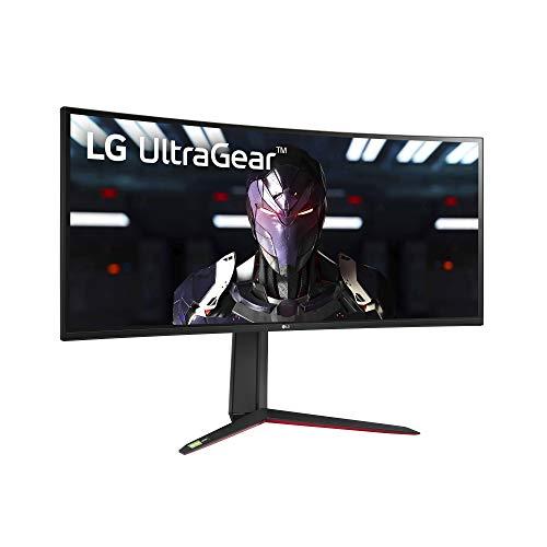 LG 34GP83A-B 34 Inch 21: 9 UltraGear Curved QHD (3440 x 1440) 1ms Nano IPS Gaming Monitor with 160Hz and G-SYNC Compatibility - Black (34GP83A-B)