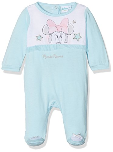 Minnie Newborn Pyjama, Bleu (Blue 103), Naissance (Taille Fabricant: 0M) Bébé Fille
