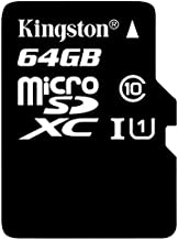 Professional Kingston 64GB Samsung Samsung Galaxy Tab Active SM-T360 MicroSDXC Card with Custom formatting and Standard SD Adapter! (Class 10, UHS-I)
