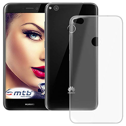 mtb more energy® Schutz-Hülle Clear und Slim für Huawei P8 Lite 2017 / P9 Lite 2017 (5.2'') - transparent - flexibel - TPU Silikon Case Cover Tasche