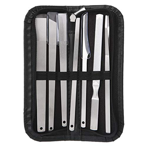 chenpaif 7X Callus Rasp File Shaver Foot Hard Dough Skin Remover Maïs Pédicure Care Tool