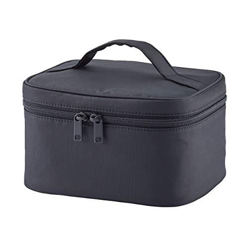 無印良品 ナイロンメイクボックス・S 黒・約16×19×11.5cm 82202700