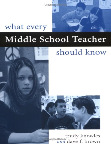 What Every Middle School Teacher Should Know