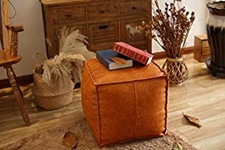 Best camel ottoman leather Reviews