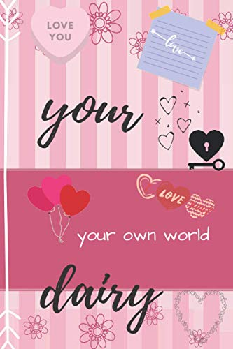 Your Diary: parkly Lock & Keys - Girls 8+ Journal Fun - Illustrated and Activities