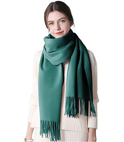 DEBAIJIA DEBAIJIA Cosy Schal Super Soft Glatt Pashmina Kälteschutz Stola Kaschmirwolle Schal für Frauen, Extra groß 200x70cm Stylish Elegant Quaste Wrap für alle Jahreszeiten