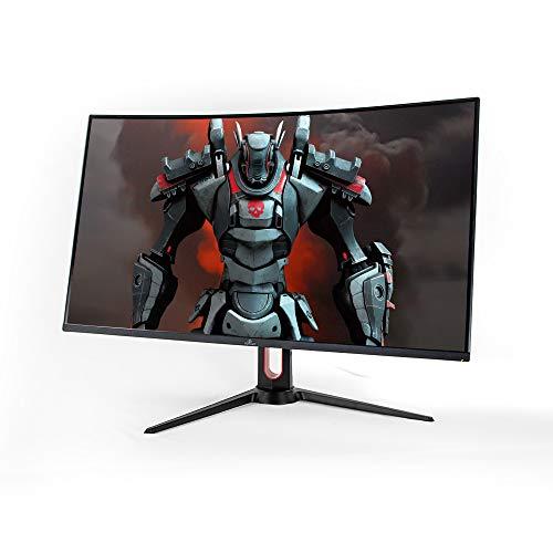YEYIAN Monitor Curvo Gaming 31.5'' Sigurd HDMI Display Port,Tasa refresco 165Hz,Tiempo de Respuesta 1ms, Salida de Audio (YMC-70201)