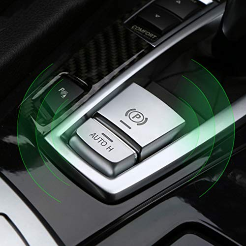 ABS Chrome Electronic Hand Brake P Button Decoration Cover for BMW F10 F07 F01 X3 F25 X4 F26 F11 F06 X5 F15 X6 F16 Car Accessories
