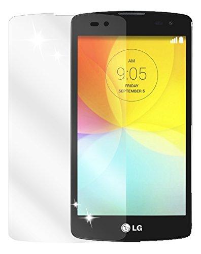 dipos I 6X Schutzfolie klar kompatibel mit LG L Fino Folie Bildschirmschutzfolie